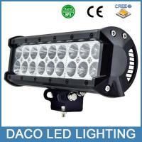 Buy cheap 54W 9 inch led light bar for turck suv from wholesalers
