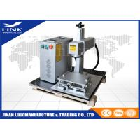 Buy cheap ISO Portable Laser Marking Machine With CAS / Max  / Raycus / IPG Laser Source from Wholesalers
