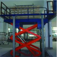 Buy cheap SJT Series Heavy Load Capacity 1000kgs Electric Cargo Lift Table from wholesalers