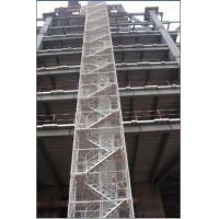 Buy cheap Safe Adjustable Twin Guardrail Scaffolding Stair Towers , Ring-lock Stairway Access Tower from wholesalers