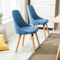 Buy cheap Anti Slip Wooden Dining Chairs / Cotton Fabric Beetle Dining Chair For Hotel from wholesalers