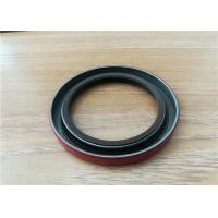 Buy cheap OEM auto FKM rubber double lip spring oil seal, silicone rubber gearbox rotary spring oil seal from wholesalers