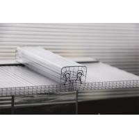 Buy cheap U Lock Corrugated Polycarbonate Sheets R Structure Shape OEM / ODM Available from wholesalers
