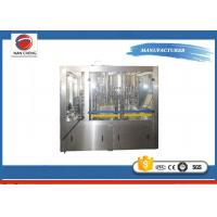 PET Water Drinking Machine Adjustable Speed , Pure Water Filling Machine PLC Control