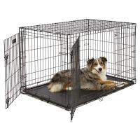 China Easy assemble Folding Metal Dog Crate For Animal  with high quality steel wire on sale