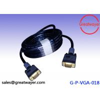 Buy cheap Gold Plated Video Graphics Array HD15pin 3+6  AWM Wiring Diagram , Vga Connector Cable from wholesalers