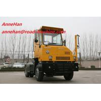 Buy cheap Sinotruk Port Tractor Truck Single Cabin With 4 Tires And 1 Spare from wholesalers