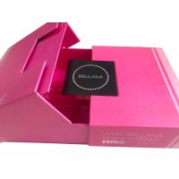 Buy cheap Premium Luxury Magnetic Hair Extension Packaging Box CE FSC Approval from wholesalers