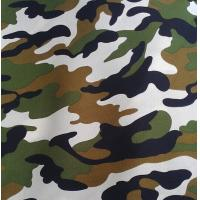 Buy cheap Polyester / Cotton Material and Make-to-Order Supply Type fabric with military print from wholesalers