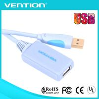 Buy cheap Long Micro USB Extension Cable with Ferrite Cores Male to Female Double Shielded USB Cables from wholesalers