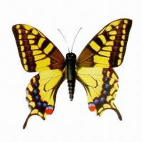 Buy cheap Butterfly-shaped Fridge Magnet, Various Colors are Available, Customized Orders are Welcome  from wholesalers