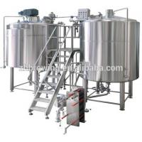 Buy cheap Stainless Steel Conical Copper Commercial Beer Brewing Equipment 50L 100L Mash Tun from wholesalers