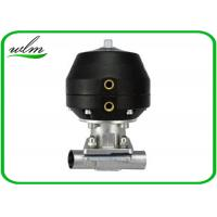 Buy cheap Hygiene Degree Straight  Sanitary Diaphragm Valve For Dairy Beer Chemical from wholesalers