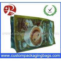 Buy cheap Plastic Foil Side Gusset Coffee Packaging / coffee bean bags Waterproof from wholesalers