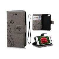 Buy cheap Antiknock Customized PU Leather Mobile Phone Cases With Card Slot Strap from wholesalers