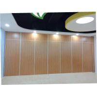 Buy cheap Classroom Acoustic Sliding Operable Partition Wall Panel Width 500 - 1200 mm from wholesalers