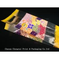 Buy cheap Large Capacity Plastic Pouch Bag Side Gusset For Snack Stick / Rice Stick Food from wholesalers