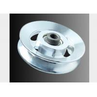 Buy cheap Popular Gym Equipment Pulley Shining Silver Alloy 114mm Multi Gym Pulley Wheels from wholesalers