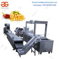 Buy cheap Factory Potato Chips Making Production Line/Potato Chips Making Equipment/High Efficiency Potato Chips Making Line from wholesalers