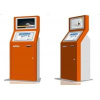 Buy cheap 32 LCD Digital Signage Display Cafes Kiosk Payment Machine With Card Reader / Thermal from wholesalers