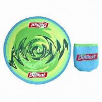 Buy cheap Promotional Foldable Frisbee, Cowboy/Bucket Hat or Baseball Cap are Also Available from wholesalers