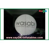 Buy cheap 0.18 MM PVC Custom Inflatable Products , Lighting Giant Flying Helium Balloon from wholesalers
