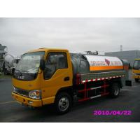 Buy cheap 4000L 4x2 JAC chassis (115HP) Mobile Refueling truck for Light Gasoline Delivery from wholesalers