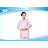 Buy cheap Hospital White Cute Unisex Surgical Nursing Scrub Tops And Pants Sets from wholesalers