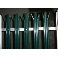 Buy cheap Anti Climb Security Palisade Fencing Gates For Lawns / Villas , Metal Picket Fence Panels from wholesalers
