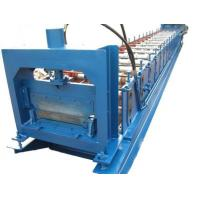 Buy cheap 1.2mm Thickness Anode plate Cold Roll Forming Machine PLC control with Punching System from wholesalers