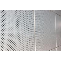 Buy cheap Exterior Wall Decoration Perforated Aluminum Wall Panels For Building Wall Material from wholesalers