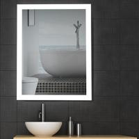 Buy cheap 5mm Copper Free High Definition Modern Backlit Bathroom Mirror Eco Glass Silver from wholesalers