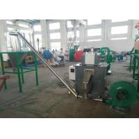 Professional engineers available to service machinery overseas, PP PE flakes/scraps pelletizing recycling machine