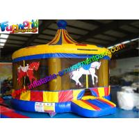 Buy cheap Circus Commercial Bouncy Castles Land Air Dome Outdoor Bounce House from wholesalers