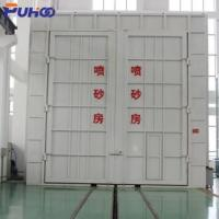Buy cheap Large Scale Industrial Sand Blasting Room Flexible Layout For Locomotive Industry from wholesalers
