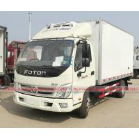 Buy cheap Foton Light Refrigerator Van Truck with 103HP Petrol Gasoline Engine from wholesalers