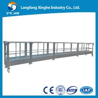 Buy cheap aluminum/hot galvanizing steel cradle/ mast climbing work platform/suspended platform from wholesalers