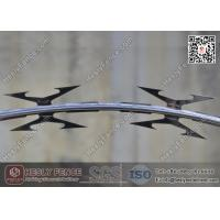 Buy cheap CBT-60 Hot Dipped Galvanised Concertina Razor Barbed Wire O.D. 500mm | Factory Sales from wholesalers