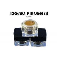 Buy cheap OEM Cream Semi Permanent Microblading Pigment 100% Pure Plant from wholesalers
