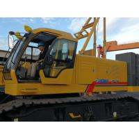 Buy cheap 85 Ton Crawler Articulating Boom Crane / Telescopic Boom Truck Mounted Crane Color Can Optional from wholesalers