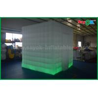 Buy cheap 2.5 X 2.5 X 2.5m 3D Inflatable Photo Booth Kiosk Frames Enclose Decoration Wedding from wholesalers