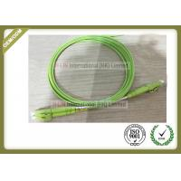 Buy cheap OM5 Duplex Fiber Optic Cable LSZH Jacket LC Connector With Light Green Color from wholesalers