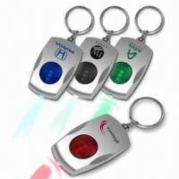 Buy cheap LED Keychains, Customized Logos are Accepted, Suitable for Premiums and Promotional Purposes from wholesalers