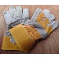 "Buy cheap 10.5"" Short Leather Welding Safety Gloves product"