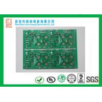 Buy cheap Key board FR4 0.8mm Double sided PCB green immersion Gold TS16949 / SGS from wholesalers