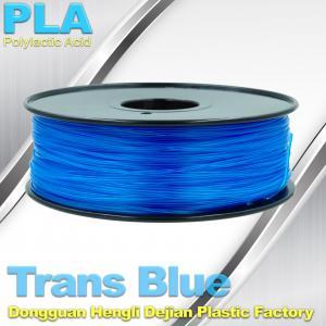 Buy cheap Blue PLA 3d Printer Filament 1.75mm , PLA 1kg Temperature  200°C  - 250°C product