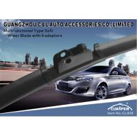 Buy cheap Flexible Universal Car Wiper Blades With Different Adapters For Different Wiper Arms from wholesalers