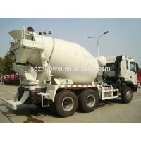 Buy cheap 336HP Left Hand Driving Concrete Mixer Truck Diesel Fuel Type from wholesalers