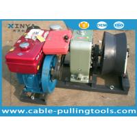 Buy cheap 5 Ton Speedy Diesel Power Cable Pulling Winch for Power Construction product