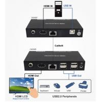 China HDMI KVM USB Extender and USB2.0 Hub and POC  50 meters on sale